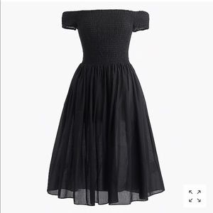 J Crew Black Beach Dress